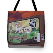 Rt 66 Dwight Il Java Stop Tote Bag