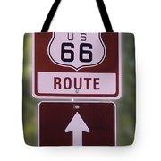 Rt 66 Signage Tote Bag