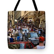 Rua 25 De Marco - Sao Paulo Tote Bag