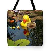 Rubber Duckies  Tote Bag
