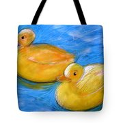 Rubber Ducks In A Tub Tote Bag