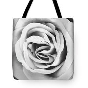 Rubellite Rose Bw Palm Springs Tote Bag
