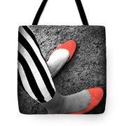 Rubies  And Stripes  Tote Bag