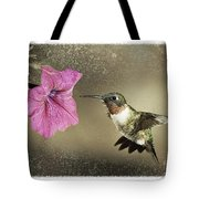 Ruby - D004190 Tote Bag by Daniel Dempster