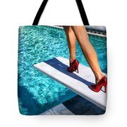 Ruby Heels Ready For Take-off Palm Springs Tote Bag