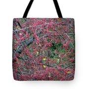 Ruby Lattice Tote Bag