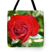 Ruby Rose Diamond Dust Tote Bag