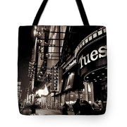 Ruby Tuesday's Times Square - New York At Night Tote Bag