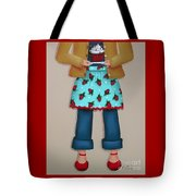 Ruby's Red Shoes Tote Bag by Catherine Holman