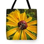 Rudbeckia Bee Tote Bag