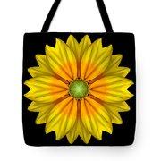 Rudbeckia Prairie Sun I Flower Mandala Tote Bag