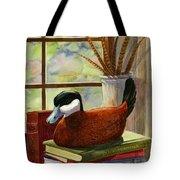 Ruddy Duck Decoy Tote Bag