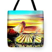 Rude Awakening Tote Bag by Shana Rowe Jackson