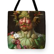 Rudolf II Of Habsburg As Vertumnus Tote Bag
