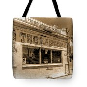 Rudy The Barber Tote Bag