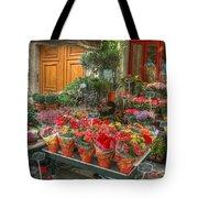 Rue Cler Flower Shop Tote Bag