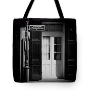 Rue Dauphine French Quarter New Orleans-monochrome Tote Bag