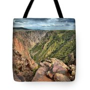 Rugged Edge Of The Canyon Tote Bag