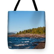 Rugged Lake Superior Coastline Tote Bag