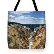 Rugged Lower Yellowstone Tote Bag by John Kelly