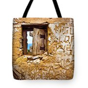 Ruined Wall Tote Bag