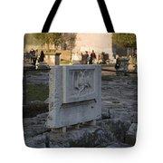 Ruins At The Roman Forum Tote Bag