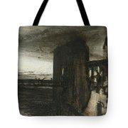 Ruins In A Landscape Tote Bag