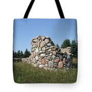 Ruins Of A Stone Silo Tote Bag
