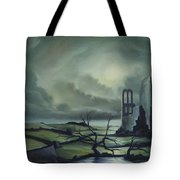 Ruins Of Cathedra Tote Bag