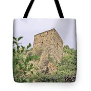 Ruins Of Durnstein Tote Bag