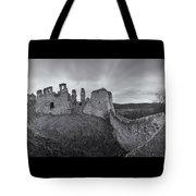 Ruins Of European Medieval Tote Bag