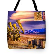 Ruins Of Fort James B. Polka And Prototype Gatling Tubas Tote Bag