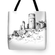 Ruins Of Furstenburg Castle Tote Bag