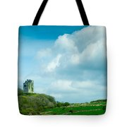 Ruins Of Irish Castle Tote Bag