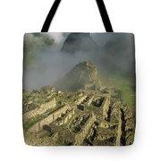 Ruins Of Machu Picchu Peru Tote Bag