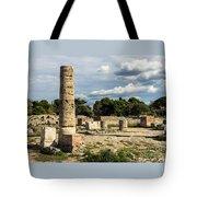 Ruins Of Paestum Tote Bag