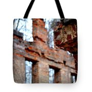 Ruins Of Sweetwater Manufacturing Company Tote Bag