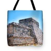 Ruins Of Tulum Mexico Tote Bag