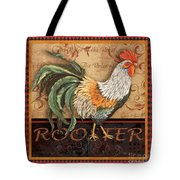 Ruler Of The Roost-3 Tote Bag
