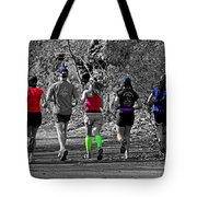 Run In The Park Tote Bag