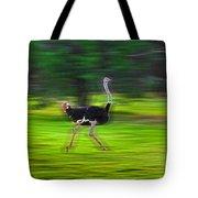 Run Ostrich Tote Bag