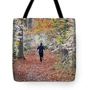 Run Through The Woods Tote Bag