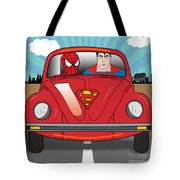 Running Away  Tote Bag
