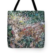 Running Beauty - Oil Painting Portrait Tote Bag