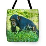 Running Chimp Tote Bag