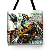 Running Chrome Tote Bag