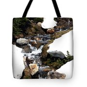 Running Down The Mountain Tote Bag