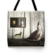 Running For Her Life Tote Bag