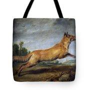 Running Fox Tote Bag