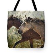 Running Free - Pryor Mustangs Tote Bag